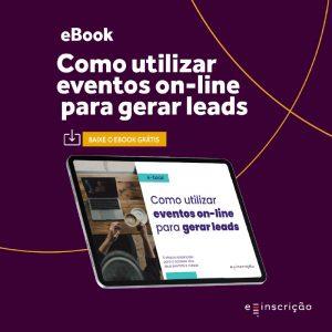 utilizar eventos on-line para gerar leads